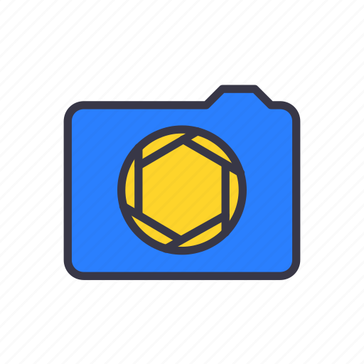 apature, camera, capture, digital, photo, photographer, photography icon
