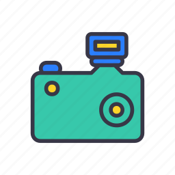 camera, capture, digital, photo, photographer, photography, shutterbug icon