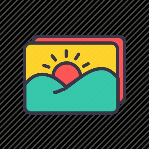 album, camera, gallery, image, interface, photo, picture icon