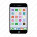 cell phone, iphone, iphone 6, iphone 6 plus, mobile phone, smart phone icon