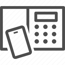 access, card, digital, door, entrance, lock, office icon