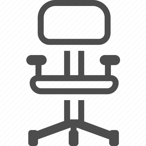 business, chair, furniture, office icon