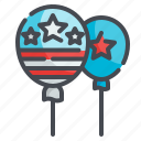 balloon, party, celebration, usa, festival