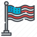 usa, flag, country, america, nation