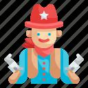 cowboy, sheriff, gun, bandit, avatar