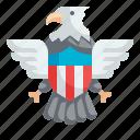 eagle, bird, usa, symbols, animals