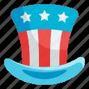 hat, country, usa, nation, celebration
