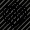 shield, emblem, protection, officer, badge