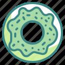 donut, bakery, dessert, sweet, doughnut