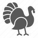 animal, bird, day, independence, poultry, thanksgiving, turkey icon