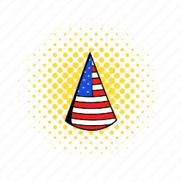 celebration, comics, decoration, event, hat, holiday, party icon