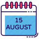 calender record, date, indian calendar, planner, yearly calendar icon