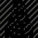 avatar, girl, hijab, india, people, user, woman icon