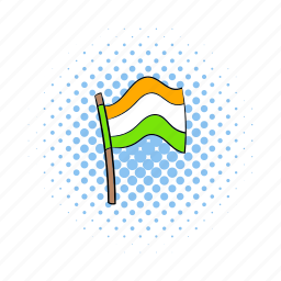 comics, country, flag, india, indian, nation, national icon