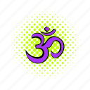 comics, hindu, india, om, religion, religious, yoga icon