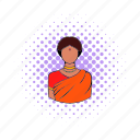 comics, dress, girl, indian, sari, traditional, woman icon