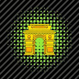 architecture, asia, comics, delhi, gate, india, landmark icon