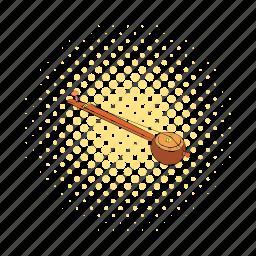comics, ektara, instrument, music, musical, string, violin icon