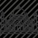 taj, mahal, india, landmark, architecture
