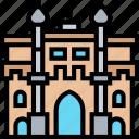 gate, india, capital, landmark, architecture
