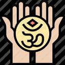 om, hinduism, spiritual, religious, holy