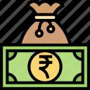 rupee, india, money, currency, economic