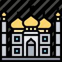 taj, mahal, landmark, india, architecture