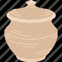 pot, vase, pottery, earthenware, craft