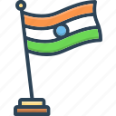 flag, freedom, patriotic, country, nation, independence day, republic day