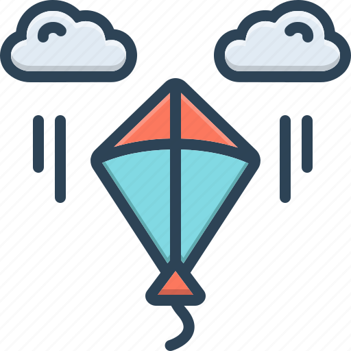 Kite, fly, freedom, holiday, festival, culture, makar sankranti icon - Download on Iconfinder