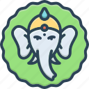 thrissur, kerala, sacred, pooram, elephant, festival, lord ganesh