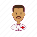 .svg, enfermeiro, india, indian man, job, nurse, profession, professional, profissão icon