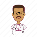 .svg, doctor, doutor, india, indian man, job, médico, profession, professional, profissão icon