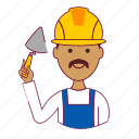 .svg, india, indian man, job, maison, pedreiro, profession, professional, profissão icon