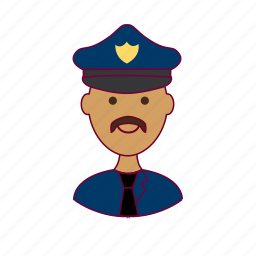 .svg, cop, india, indian man, job, police officer, policial, polícia, profession, professional, profissão icon