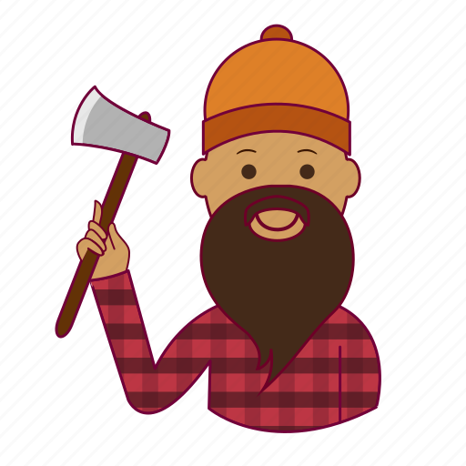 .svg, india, indian man, job, lenhador, lumberjack, profession, professional, profissão icon