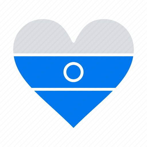 flg, heart, heartflag, indian icon