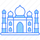 taj mahal, building, house, construction, real estate, agra india