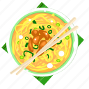 chicken noodle, food, indonesia, indonesian food, mie ayam icon