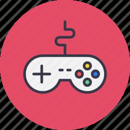controller, device, game, gamepad, joypad, remote, wire icon