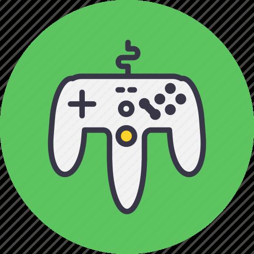 controller, game, gamepad, joypad, joystick, remote, wire icon