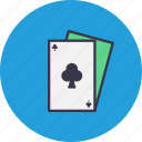 blackjack, card, casino, clubpoker, gamble, playing icon