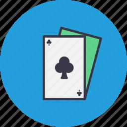 blackjack, card, casino, clubpoker, gamble, playing icon