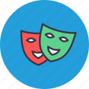 entertainment, fun, game, identical, mask icon
