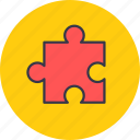 fun, game, organization, puzzle, seo, structure icon
