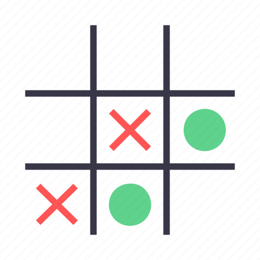 entertainment, fun, game, tac, tic, tictactoe, toe icon