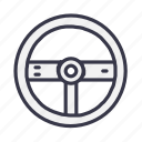 carrace, controller, device, game, gamepad, remote, wheeler icon