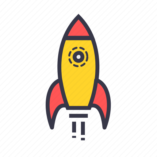 fly, game, rocket, sport, takeoff icon