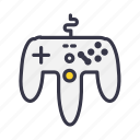 controller, game, gamepad, joypad, joystick, remote, wire icon