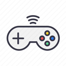 controller, device, game, gamepad, joypad, remote, wireless icon